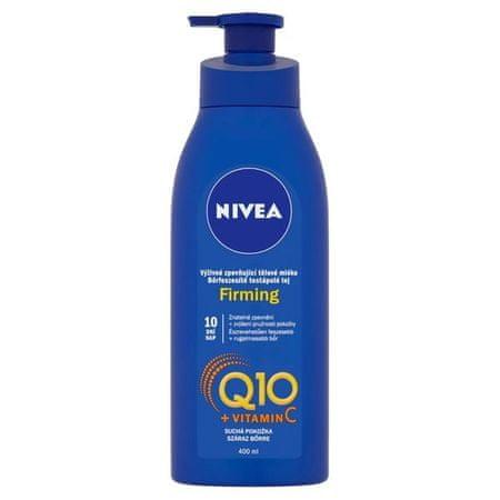 Nivea Q10 Plus bőrfeszesítő és tápláló testápoló száraz bőrre(Firming) 400 ml