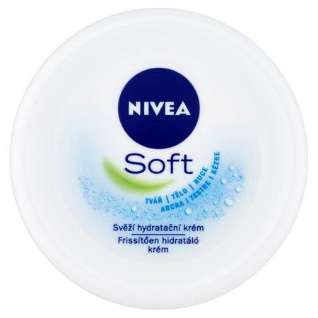Nivea Svieža hydratačný krém Soft (Objem 200 ml)