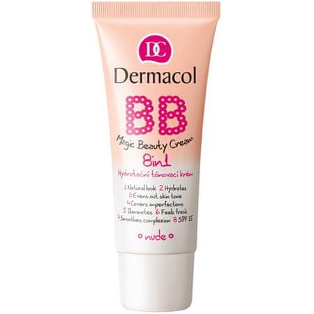 Dermacol Hidratáló és tonizáló BB krém 8 az 1-benSPF 15(Magic Beauty Cream) (árnyalat Nude)