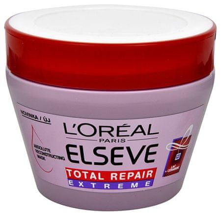 L'Oréal Restorative Maska do włosów suchych i zniszczonych ELSEV Razem napraw Ekstremalne 300 ml