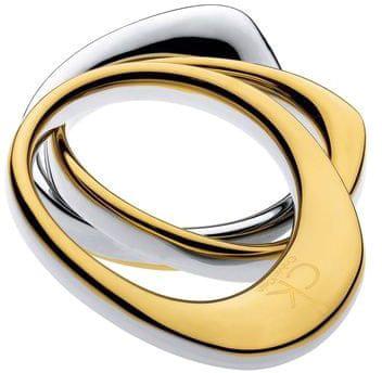 Calvin Klein Pierścień falować KJ1AJR2001 (obwód 52 mm)