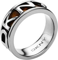 DKNY feliratú nemesacél gyűrű NJ1892040