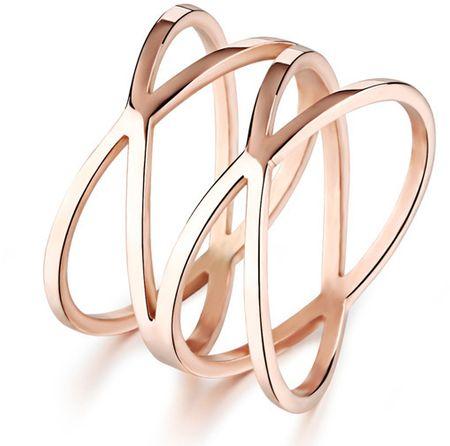 Troli Romantyczny brązu pierścienia stalowego KRS-275 (obwód 49 mm)
