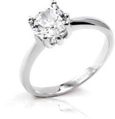 Modesi Zásnubný prsteň QJR1948L striebro 925/1000