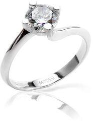 Modesi Zásnubný prsteň QJR2076L striebro 925/1000