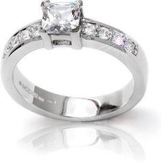 Modesi Zásnubný prsteň QJR5000L striebro 925/1000