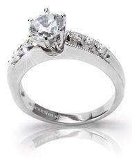 Modesi Zásnubný prsteň QJRY4059L striebro 925/1000
