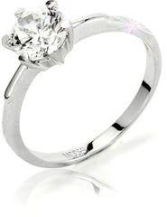 Modesi Zásnubný prsteň Q13376-1L striebro 925/1000