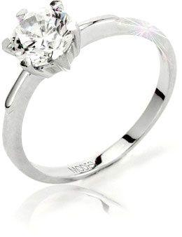 Modesi Eljegyzési gyűrű Q13376-1L (áramkör 52 mm) ezüst 925/1000