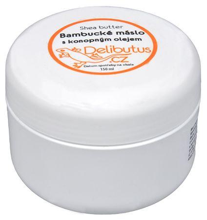 Delibutus Bambucké máslo s konopným olejem (Objem 150 ml)
