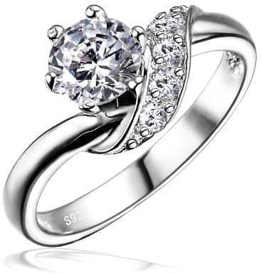 Silvego Ezüst eljegyzési gyűrű SHZR234 (áramkör 51 mm) ezüst 925/1000