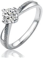 Silvego Srebrni zaročni prstan SHZR302 srebro 925/1000