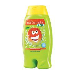 Avon Łagodny żel pod prysznic i do kąpieli Pianka 2 w 1 mango Naturals dzieci (Magnificent Mango mycia ci