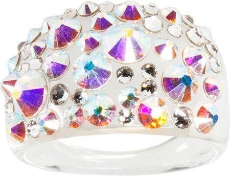 Troli Pierścień Bubble Crystal AB (obwód 50 mm)