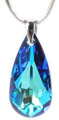 Troli Spustite ogrlico 24 mm Bermuda Blue