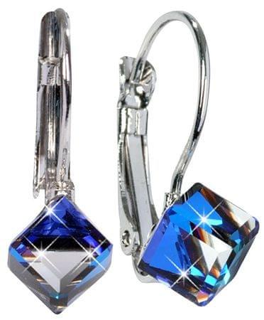 Troli Cube Bermuda Blue fülbevaló