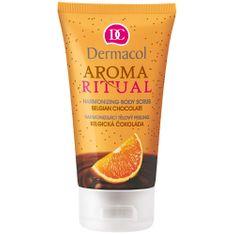 Dermacol Belga csokoládé naranccsal - harmonizáló testpeeling 150 ml