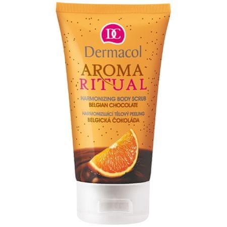 Dermacol Harmonizujący peeling do ciała belgijska czekolada z pomarańczą 150 ml