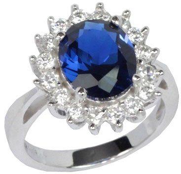 Silvego Ezüst Gyűrű Princess Kate TXR903091 (áramkör 50 mm) ezüst 925/1000