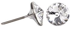 Troli Kolczyki Rivoli 8 mm Crystal