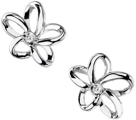 Hot Diamonds Kolczyki Paradise Otwarte Płatek Stud DE248 srebro 925/1000