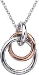 Hot Diamonds Náhrdelník Eternity Interlocking DP373 (retiazka, prívesok) striebro 925/1000
