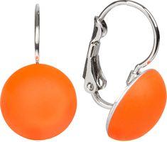 Troli Cabo UV Orange fülbevaló