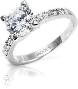 Modesi pierścień JTA1001 (obwód 54 mm) srebro 925/1000