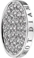 Hot Diamonds Prívesok Emozioni Ice Sparkle Coin EC011-EC049 striebro 925/1000