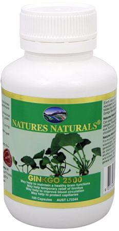 Australian Remedy Ginkgo 2500 mg 100 kapslí