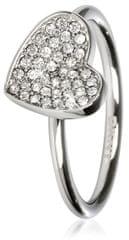 DKNY Rozsdamentes acél gyűrű szív NJ1995040