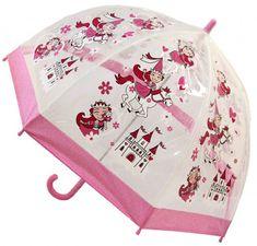 Blooming Brollies Gyerekek Holovaty átlátszó esernyő Buggz gyerekek Stuff Princess BUPRIN