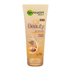 Garnier Bőrszépítő testradír (Oil Beauty Scrub) 200 ml