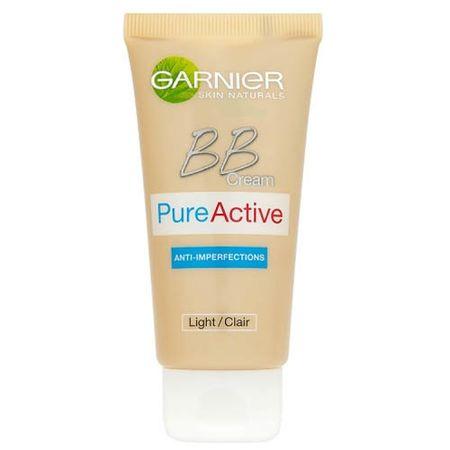 Garnier BB krem na niedoskonałości w jednym PureActive 5 SPF 15 50 ml (cień medium)