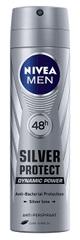 Nivea Antiperspirant v spreji pre mužov Silver Protect Dynamic Power 150 ml