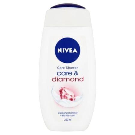 Nivea Żel pod prysznic z opiekuńczy oleju Touch Diamond (objętość 250 ml)