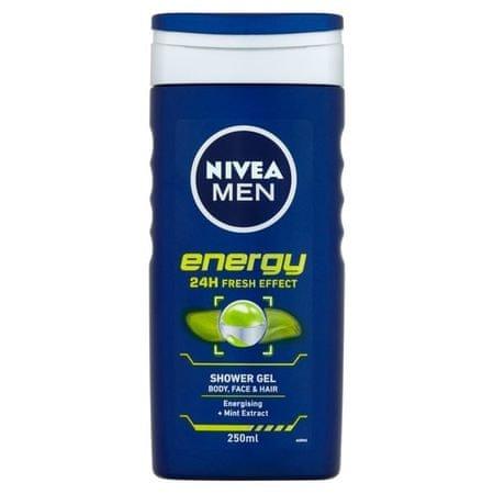 Nivea Sprchový gél pre mužov Energy (Objem 500 ml )
