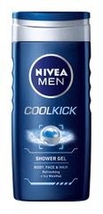 Nivea Sprchový gél pre mužov Cool Kick 250 ml
