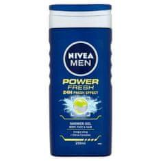 Nivea Sprchový gél pre mužov Power Refresh 250 ml