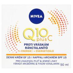 Nivea Energizujúci denný krém proti vráskam Q10 PLUS SPF 15 50 ml
