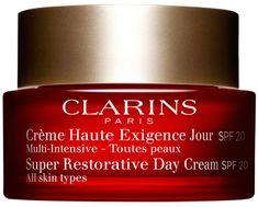 Clarins Odmładzający Krem na dzień dla wszystkich typów skóry SPF 20 50 ml Super regenerujący