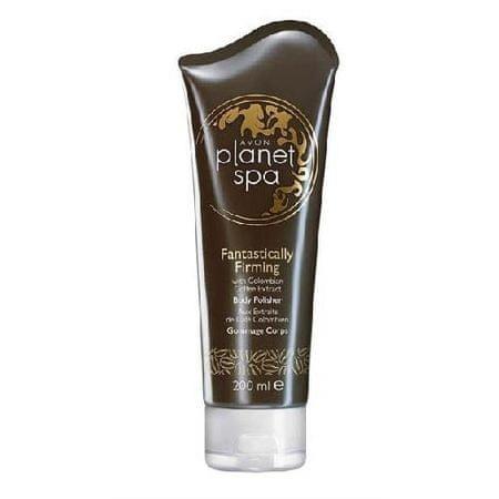 Avon Planet Spa Fantastically Firming bőrfeszesítő testradír kávékivonattal 200 ml
