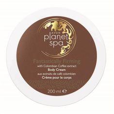 Avon Planet Spa Fantastically Firming bőrfeszesítő testápoló krém kávékivonattal 200 ml