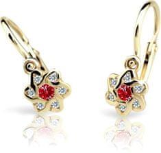Cutie Jewellery Gyermek fülbevaló C2149-10-X-1 sárga arany 585/1000
