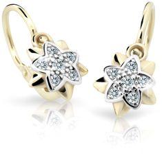 Cutie Jewellery Gyermek fülbevaló C2210-10-X-1 sárga arany 585/1000