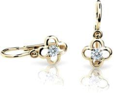 Cutie Jewellery Gyermek fülbevaló C1944-10-X-1 sárga arany 585/1000