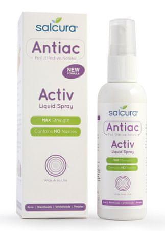 Salcura Gyulladásgátló spray bőrproblémák (Antiac Activ folyékony spray) (mennyiség 50 ml)
