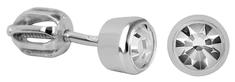 Brilio Silver Ezüst fülbevaló tiszta kristályokkal 438 001 01163 04 ezüst 925/1000