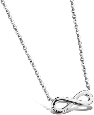 Troli Ocelový náhrdelník Nekonečno KNS-271
