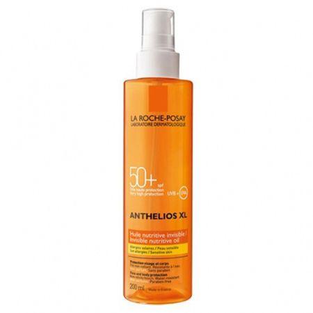 La Roche - Posay Tápláló olaj gyógyvíz Athelios SPF 30 (Nutritive Oil) 200 ml